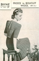 ladies 1940's knitting patterns