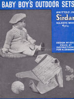 vintage sirdar baby knitting patterns matinee jackets