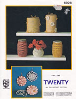 vintage crochet patternloo roll covers pot covers sachets