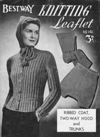 vintage bestway knitting patterns 1940s