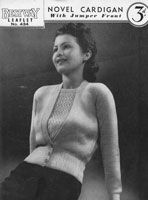 vintage Bestway knitting patterns 1930s