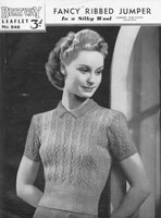 vintage ladies bestway jumper 1930s
