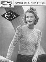 vintage ladies bestway knitting patterns