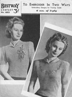 vintage bestway ladies knitting patterns 1930s