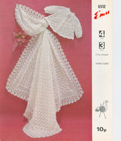 baby shawl knitting patterns