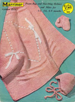vintage baby blanket knitting patterns marriners