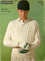 cricket jumper knitting patterns