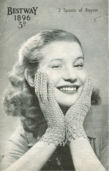 Vintage Crochet Patterns | Knit Wits offering knitting