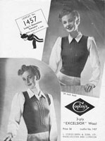 vintageknitting pattern