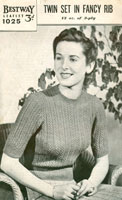 vintage ladies knitting patterns