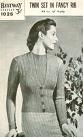 bestway vintage knitting patterns