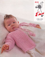 vintage baby knitting patterns matinee coat jacket