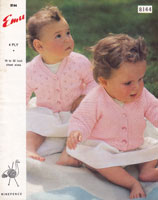 vintage baby knitting patterns cardigans