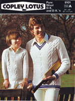 vintage knitting pattern for mens and boyd cricket jumper 19670s
