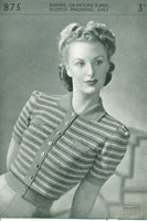 vintage ladies jumper patterns