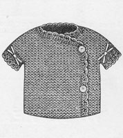 vintage 1910 vest knitting pattern