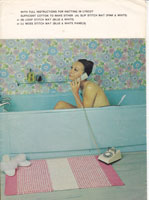 vintage bath mat knitting patterns rug knitting patterns