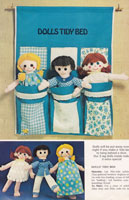 sewing pattern for dolls in bed