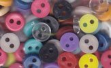 tiny wee doll buttons all colours 5mm