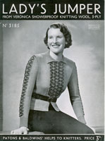 vintage 1930's ladies jumpers