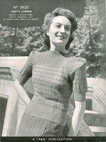 ladies jumper knitting patterns