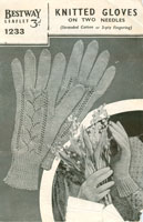 vintage summer glove knitting patterns