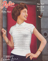 vintage ladies summer top 1950s