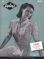 vintage 1940s bed jacket knitting patterns