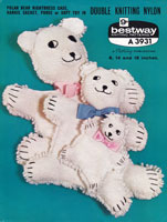 vintage teddy bear knitting patterns