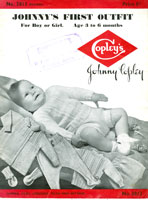 vintage pattern for baby boys outfits