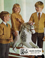 vintage childrens knitting patterns from the Retro Knitting Company