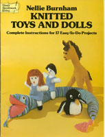 vintage toy knitting book