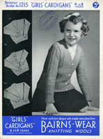 girls knitting pattern